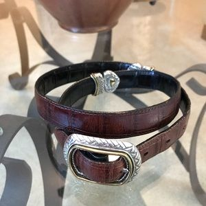 Final price🎉Brighton reversible leather belt
